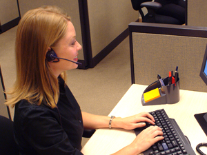 virtual receptionist job description